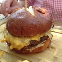 Photo taken at Butcher & The Burger by Barbara L. on 6/3/2012