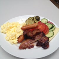 Photo taken at Gothia Towers Breakfast by George A. on 7/12/2012