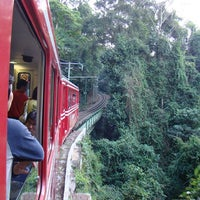 Photo taken at Trem do Corcovado by PK on 5/10/2012