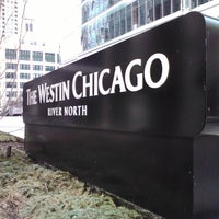 Photo taken at The Westin Chicago River North by K. K. on 3/12/2012