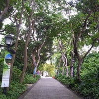 Photo taken at Fort Canning Park by Sandy Y. on 8/23/2012