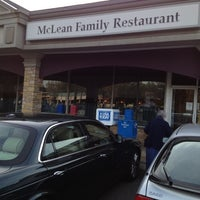 Photo taken at McLean Family Restaurant by Brent W. on 4/16/2012