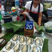 Photo taken at Ying Charoen Market by Narutoo S. on 4/9/2012