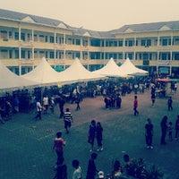Photo taken at SMK Bandar Puchong Jaya (A) by Jozephine W. on 6/16/2012