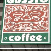Photo taken at Gussto Cafe by Георги К. on 4/26/2012