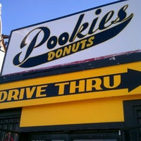 Photo taken at Pookies Donuts by phillip w. on 4/18/2012