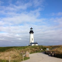Photo taken at Yaquina Head Lighthouse by Omer G. on 8/1/2012