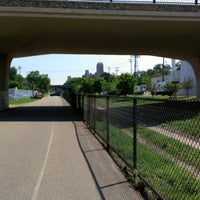 Photo taken at The Midtown Greenway by Jason on 9/11/2012