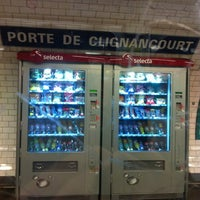 M tro porte de clignancourt 4 clignancourt paris le de france - Metro porte de clignancourt ...