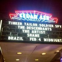 Photo taken at Cedar Lee Theatre by Midnite Ticket on 2/5/2012