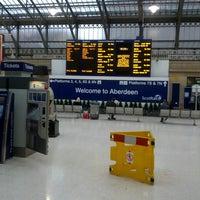 Photo taken at Aberdeen Railway Station (ABD) by h b. on 8/17/2012