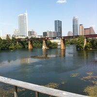 Photo taken at Pfluger Pedestrian Bridge by Cheisha H. on 8/15/2012
