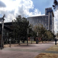Photo taken at Discovery Green by Gonzalo M. on 2/21/2012