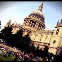 Photo taken at St Paul's Churchyard by Djaia on 8/9/2012