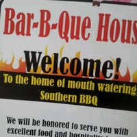 Photo taken at Bar-B-Que House by Andrew P. on 6/8/2012