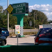 Photo taken at Quaker Steak & Lube by Mark C. on 3/18/2012