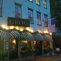 Photo taken at The Grog Restaurant by Allan K. on 6/16/2012