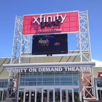 Photo taken at XFINITY Live! Philadelphia by Dave W. on 4/6/2012
