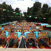 Photo taken at Xochimilco by Liss M. on 8/3/2012