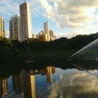 Photo taken at Parque Vaca Brava by Aretha S. on 5/27/2012
