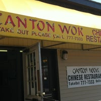 Photo taken at Canton Wok by Huna T. on 8/26/2012