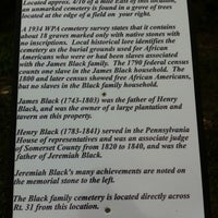 Photo taken at Birthplace of Jeremiah S. Black by technicolor_cat on 9/3/2012