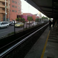 Photo taken at Metro Viaducto (Línea 2) by Arely R. on 4/28/2012