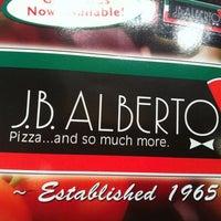 Photo taken at J.B. Alberto's Pizza by Misha K. on 2/26/2012