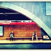 Photo taken at RENFE Plaça de Catalunya by Queralt on 5/16/2012