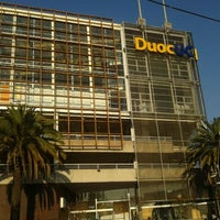 Photo taken at Duoc UC by Marcelo P. on 5/19/2012