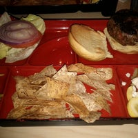 Photo taken at Bento Burger by Laurent R. on 2/3/2012