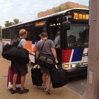 Photo taken at MetroLink - Grand Station by Julie K. on 8/9/2012