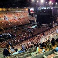Photo taken at Mandalay Bay Arena by 24kMedia on 8/19/2012