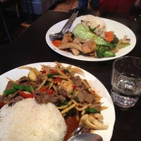 Photo taken at Newtown Thai by Namira A. on 7/12/2012