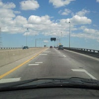 Photo taken at High Rise Bridge by Shannon M. on 4/12/2012