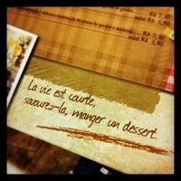 Photo taken at Petites Délices by Tatiane G. on 3/3/2012
