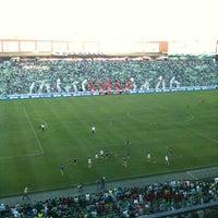 Photo taken at Territorio Santos Modelo Estadio by Garufox on 5/14/2012