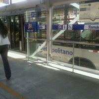 Photo taken at Estación Tomás Valle - Metropolitano by Alessandra L. on 3/15/2012