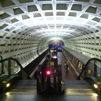 Photo taken at Capitol South Metro Station by Joshua R. on 6/14/2012