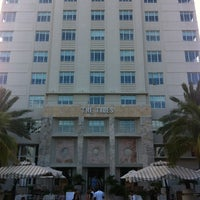 Photo taken at Tides South Beach l King & Grove by Fanny L. on 8/29/2012