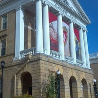Photo taken at Bascom Hall by Erin K. on 9/12/2012