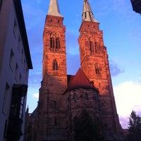 Photo taken at St. Sebald by Georg W. on 7/10/2012