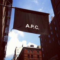 Photo taken at A.P.C. by Eric A. on 8/11/2012