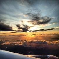 Photo taken at Edinburgh Airport (EDI) by Sam B. on 7/15/2012