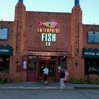 Photo taken at Enterprise Fish Co. by Kalin I. on 5/30/2012