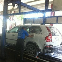 Photo taken at Los Feliz Hand Car Wash by G E. on 5/5/2012