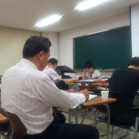 Photo taken at 단국대학교 상경관 by Daihkim K. on 6/12/2012