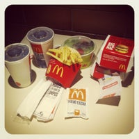 Photo taken at McDonald's by Fábio G. on 5/11/2012
