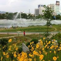 Photo taken at 청주대교 by Kangsoo H. on 6/2/2012
