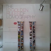 Photo taken at Lomography Gallery Store LA by Angelito J. on 8/11/2012